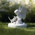 TRIXIE Rzeźba pamiątkowa Kot i Anioł w kolorze białym