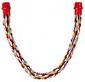 TRIXIE Żerdka ze sznurka elastycznego dla dużych papug