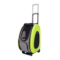 IBIYAYA COMBO EVA Wózek 5w1 zielony dla małego psa lub kota