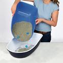 TRIXIE Kuweta Berto z systemem przesiewającym, granitowo-niebieska