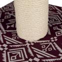 TRIXIE Drapak Carlotta w kolorze bordowo-białym
