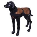 RUKKA AIRBORN Kurtka czarno-brązowa dla psa, 9 rozmiarów
