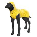 RUKKA STREAM kurtka przeciwdeszczowa dla psa, żółta, 12 rozmiarów