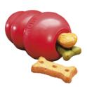 Kong Red - tradycyjny kong, wytrzymała zabawka na smakołyki