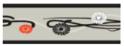 AMI PLAY Joy Szare kwiatki - obroża regulowana