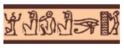 AMI PLAY Joy Wzór Egipski - obroża regulowana