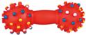 TRIXIE Hantelek - zabawka winylowa z wypustkami dla psa, 15 cm