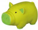 TRIXIE Świnka z lateksu - piszcząca zabawka dla psa, 11 cm