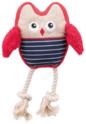 TRIXIE Pluszowa Sowa - zabawka dla psa, 24 cm