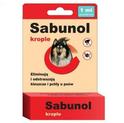 Sabunol - krople przeciw kleszczom i pchłom dla psów