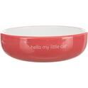 TRIXIE Miska dla kotów ras krótkopyskich w kolorze biało-czarnym
