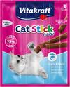 VITAKRAFT - CAT-STICK MINI - mini kabanosy, przysmak dla kota, 3 szt.