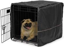 Mid West Quiet Time - pokrowiec na klatkę dla psa, rozmiar 2, (61x46x48cm)
