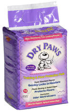 Mid West Dry&Paws - podkłady higieniczne dla zwierząt, Rozmiar 58 x 61cm