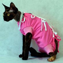 Grande Finale - koszulka pooperacyjna dla psa i kota, kolor różowy OSTATNIE SZTUKI!