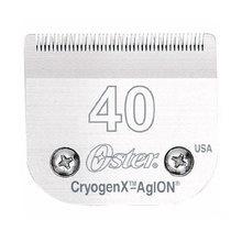 OSTER CryogenX nr 40 0,25mm - wymienne ostrze chirurgiczne do maszynek typu snap-on