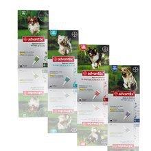 BAYER Advantix- preparat w płynie przeciwko kleszczom i pchłom dla psów, 4 pipety