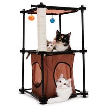 Kitty City Wieża (Tower)- mebelek dla kota z drapakiem i kryjówką