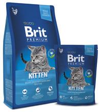 Brit Premium Chicken Kitten - karma dla kociąt i młodych kotów z kurczakiem 300g, 800g, 1,5kg, 8kg