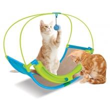 Kołyska pełna zabaw (Rocking Roller)- interaktywna zabawka dla kotów
