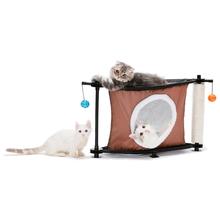 Kitty City Przytulny Zakątek (Sleepy Corner)- kryjówka z drapakiem dla kota