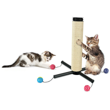 Kitty City Strefa Zabawy (Play Zone)- sizalowy drapak z piłeczkami dla kota Możliwość zmiany ustawienia!