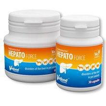 Vetfood HEPATOforce- suplement o działaniu wspomagającym pracę oraz regenerację wątroby dla psów i kotów