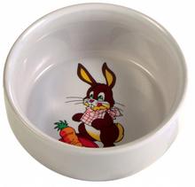 Trixie Rabbit - miseczka ceramiczna dla gryzonia 300ml