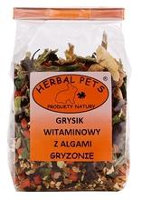Herbal Pets Grysik witaminowy z algami- karma uzupełniająca dla chomików, świnek morskich, myszy, szczurów, szynszyli oraz myszoskoczków 150g