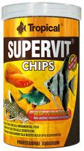 TROPICAL SUPERVIT CHIPS - wieloskładnikowy pokarm w formie tonących chipsów z beta-glukanem