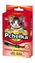 Pchełka Obroża przeciw pchłom i kleszczom dla kota, kolor tęczowy 20cm-30cm
