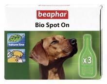 Beaphar Bio Spot On Krople dla psa z naturalnymi olejkami eterycznymi 3x1ml