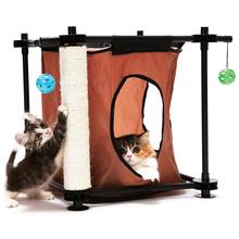 Kitty City Kryjówka (Hideaway)- mebelek z drapakiem dla kotów
