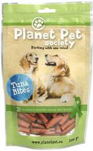 PLANET PET SOCIETY Tuna Bites - tuńczyk w kawałkach, przekąska dla psa, 100g