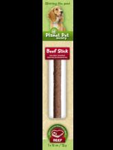 PLANET PET SOCIETY Beef Stick - kabanos z wołowiny, przysmak dla psa, 12g