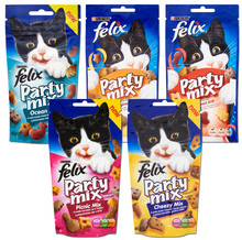 Purina Felix Party Mix - przysmaki dla kotów, 60g