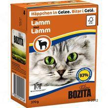 Bozita Lamm- karma dla kota z jagnięciną w galaretce, karton 370g Zawartość mięsa 93 %!