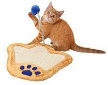 Trixie Kocia Łapka- drapak dla kota z piłką na sprężynce