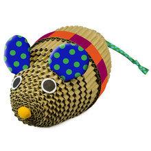 Petstages Eko Kartonowa Mysz- zabawka dla kota, Idealna do drapania!