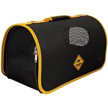Zolux Roadsign- torba do transportu czarna z żółtymi lamówkami