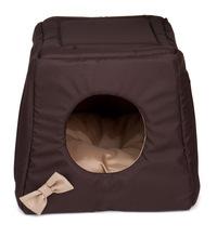 Comfy Lola Trio- wielofunkcyjne legowisko dla psa lub kota, kolor brązowo-beżowy, 3w1!