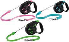 Flexi Color Large- smycz automatyczna dla psów do 50kg wagi, na lince 5m