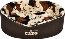 Cazo Country Style- legowisko owalne z wyciąganą poduszką