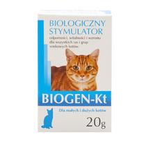 Biogen Kt - biologiczny stymulator dla kotów z probiotykiem 20g
