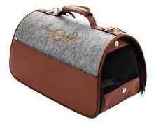Cazo Filcowa torba do przewozu zwierząt Niezwykle modny design!