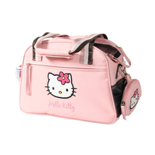 Zolux Hello Kitty- różowa torba do przewozu psów i kotów z uroczym etui (portfelikiem)