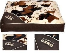 Cazo Country Style- stylowy materac dla psa lub kota, Imitacja krowiej skóry!