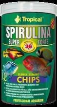 TROPICAL SUPER SPIRULINA FORTE CHIPS - roślinny pokarm w formie wolno tonących chipsów z wysoką zawartością spiruliny
