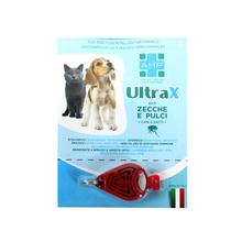 AHP UltraX - elektroniczne urządzenie odstraszające kleszcze i pchły, dla psów i kotów w każdym wieku
