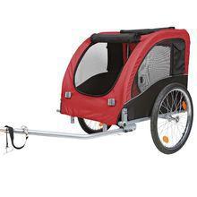 TRIXIE Fahrrad-Anhanger - wózek rowerowy do przewozu psa